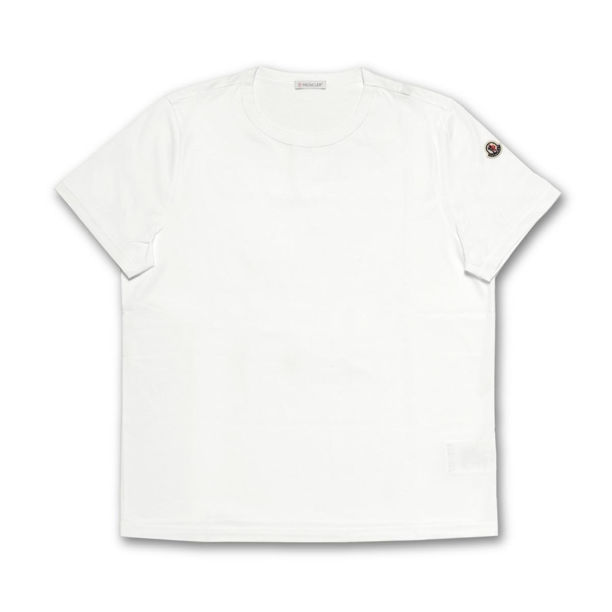モンクレール MONCLER Tシャツ レディース 8083400 8390X 001 半袖Tシャツ WHITE ホワイト