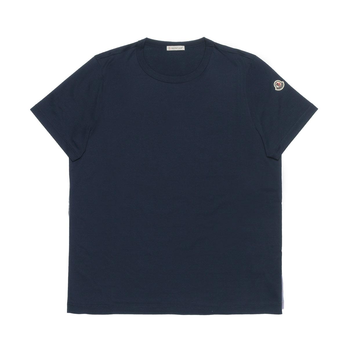 モンクレール MONCLER Tシャツ レディース 8083400 8390X 778 半袖Tシャツ NAVY ダークブルー