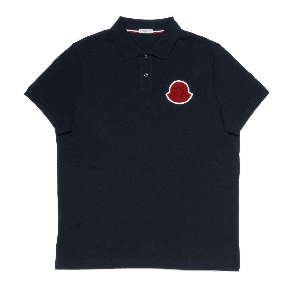 モンクレール MONCLER ポロシャツ メンズ 8322000 84556 773 半袖ポロシャツ NAVY ダークブルー