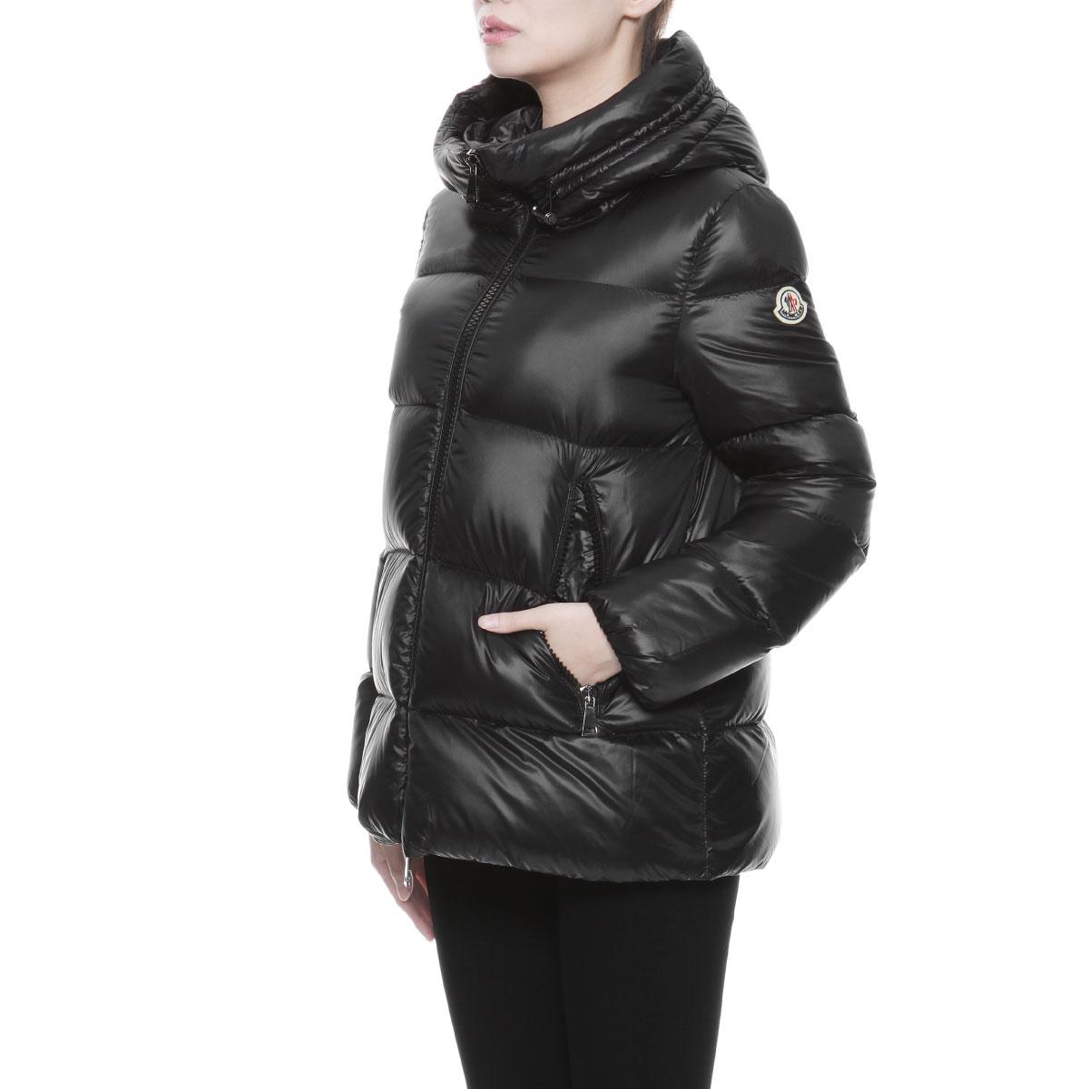 Moncler Women's Black Seritte Jacket | GIULIOFASHION.COM