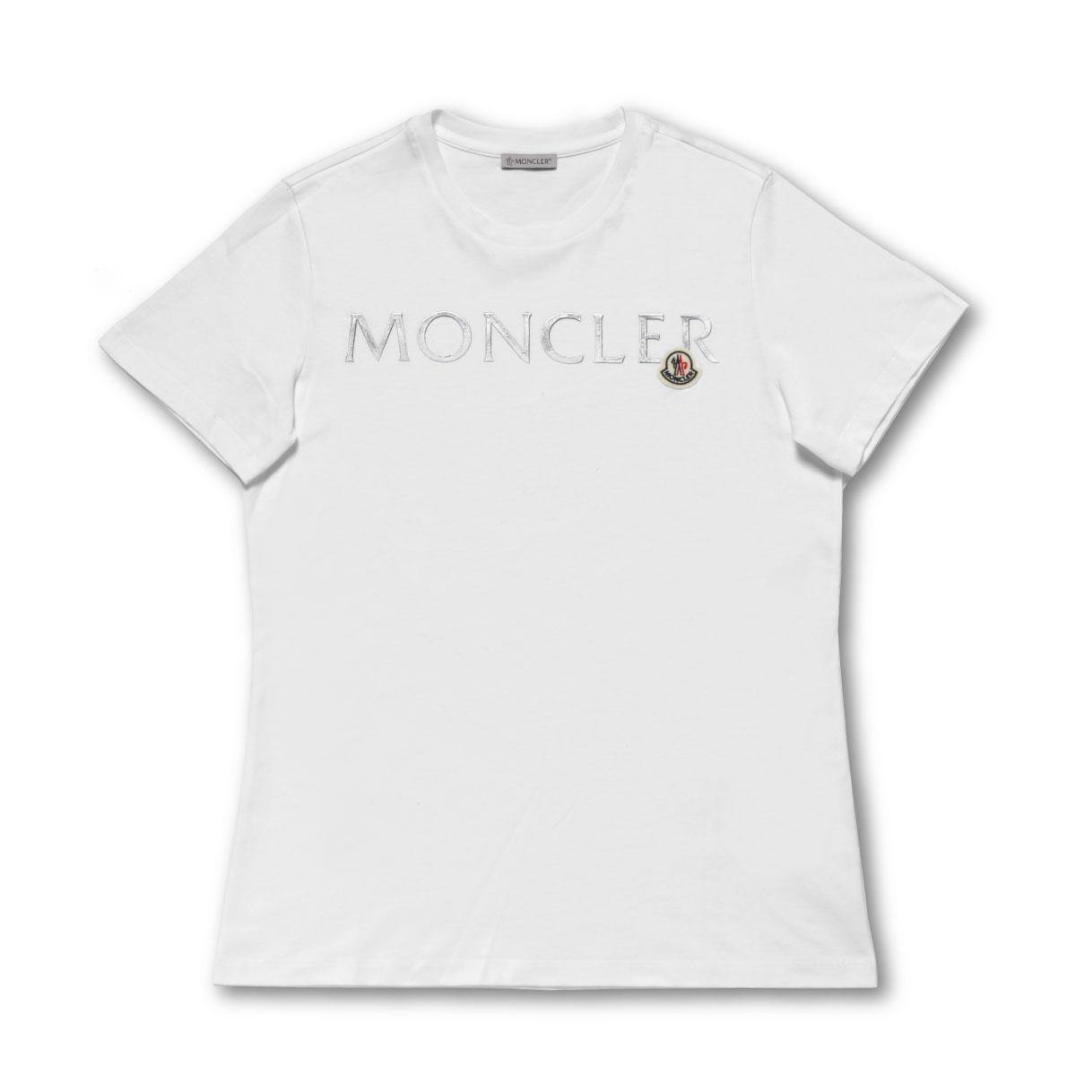 モンクレール MONCLER Tシャツ レディース 8C71510 V8094 001 半袖Tシャツ WHITE ホワイト