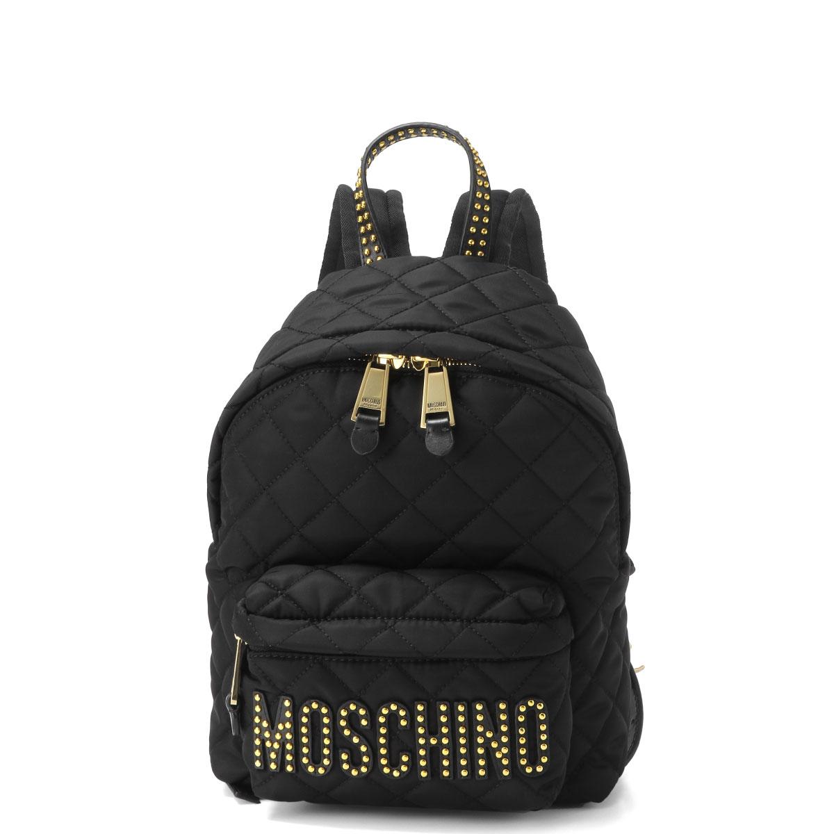 モスキーノ MOSCHINO バッグ レディース 7611 8203 2555 バックパック BLACK ブラック