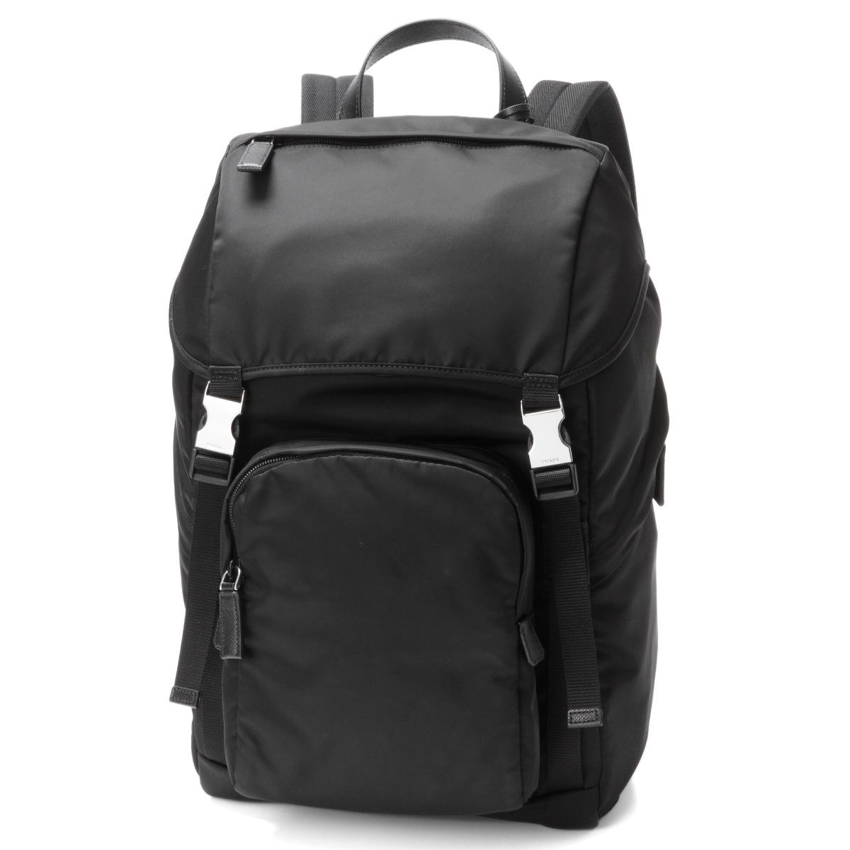 3816ed2211 Prada PRADA bag men 2VZ135 973 F0002 backpack NERO black