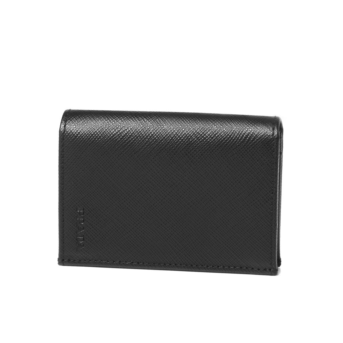 c2b29ebb67c4 Prada PRADA card case men 2MC945 PN9 F0002 SAFFIANO 1 NERO black ...