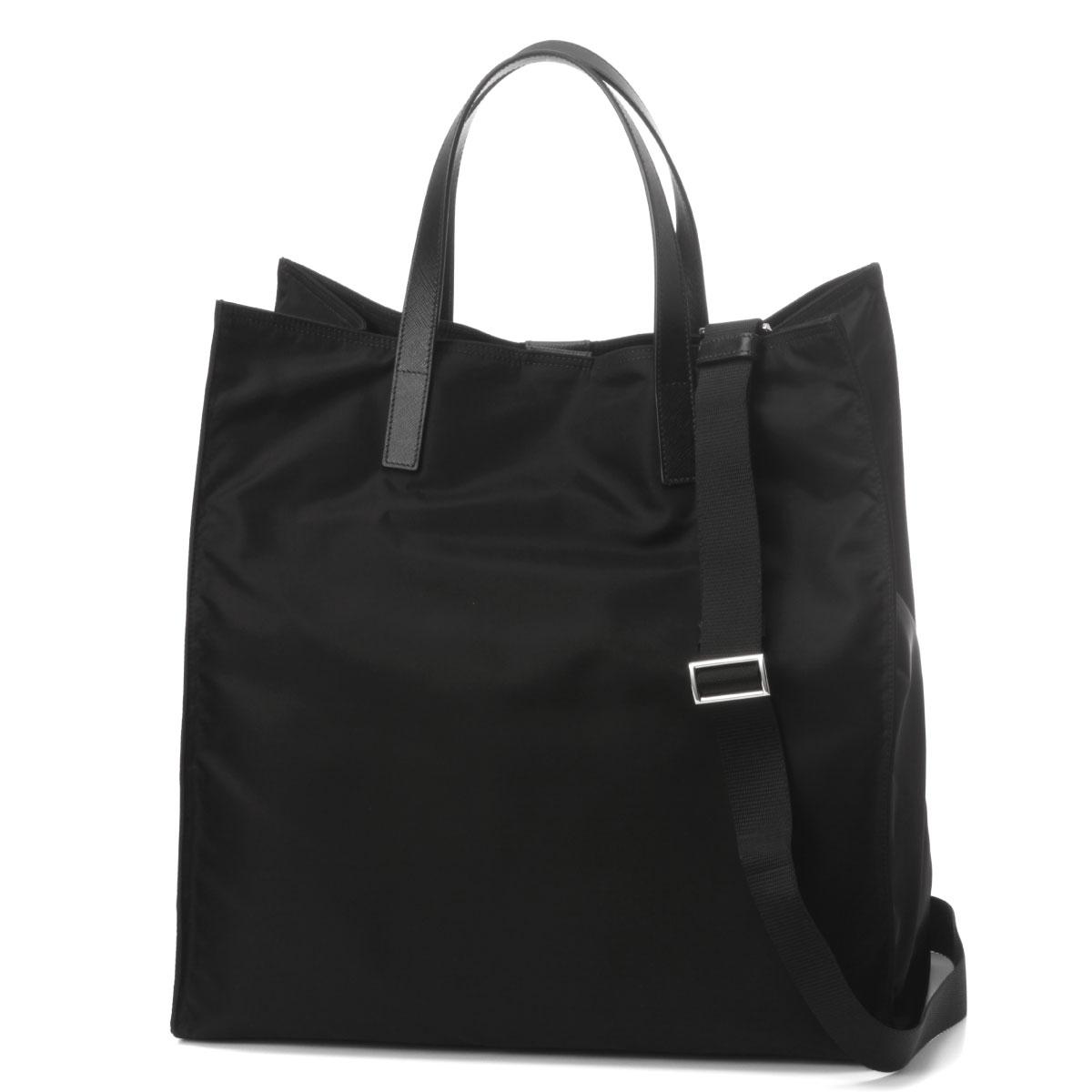 fee8639287 new arrivals prada prada bag men 2vg905 064 f0002 shoulder tote bag nero  black belonging to
