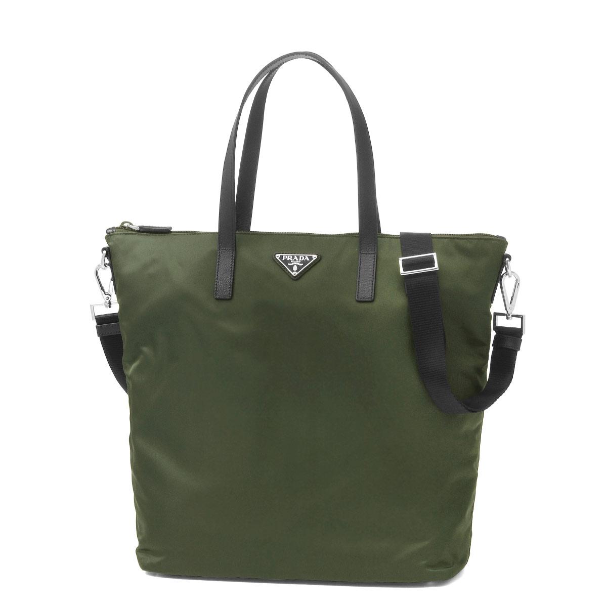 30f5541a51e540 Prada PRADA bag lady 1BG696 V44 F0161 shoulder tote bag MILITARE Green  belonging to ...