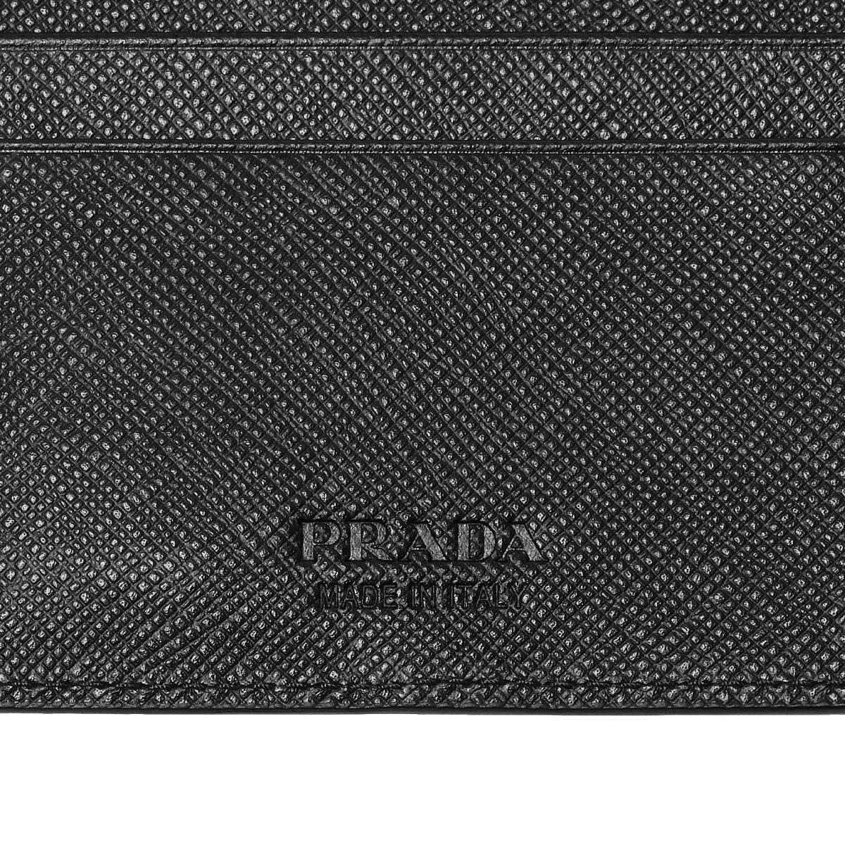 e02e0f1ad501 ... Prada PRADA wallet men 2MN077 QME F0002 folio wallet SAFFIANO METAL  NERO black ...