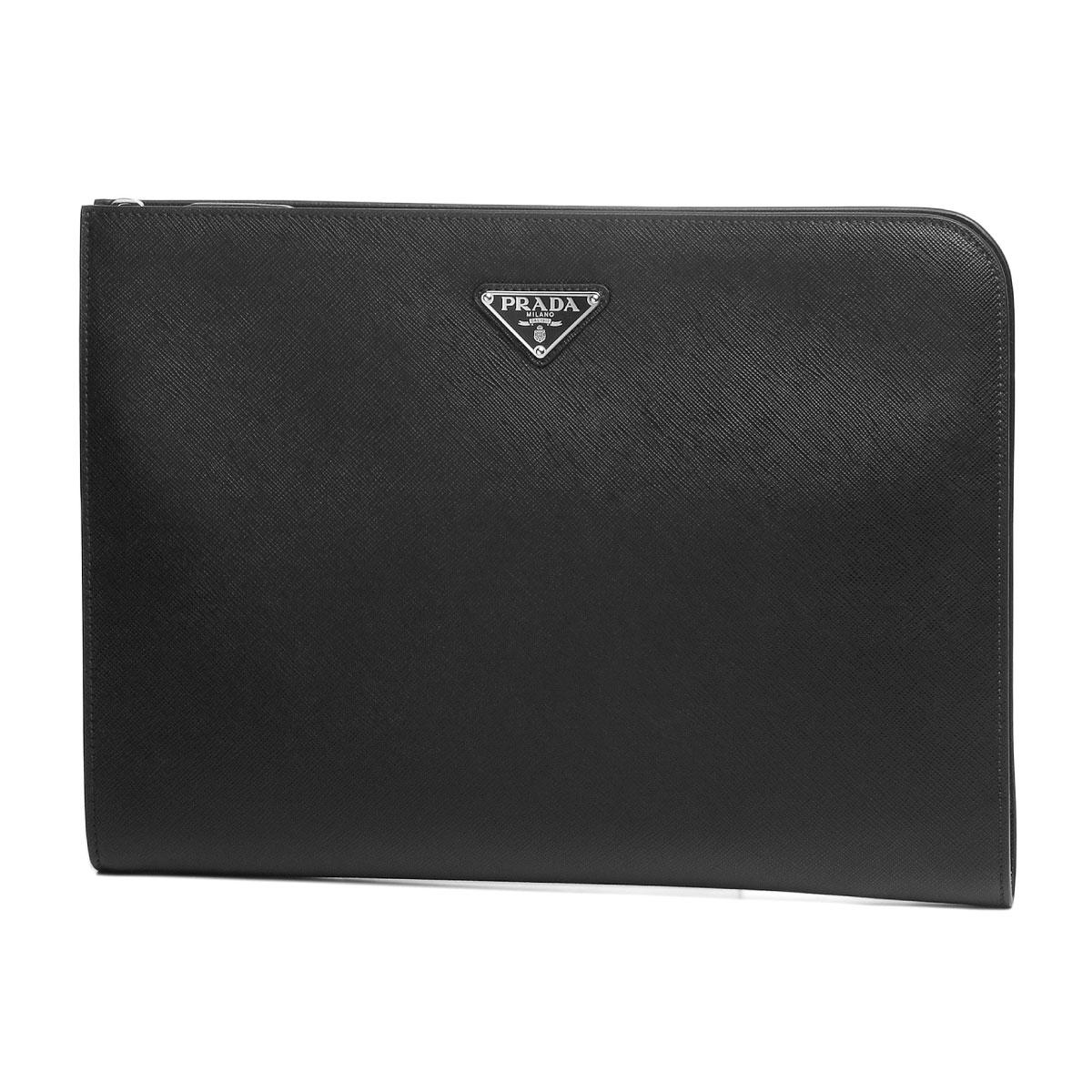 76859af6e646 importshopdouble: Prada PRADA bag men 2VN003 OOO 9Z2 F0002 clutch ...