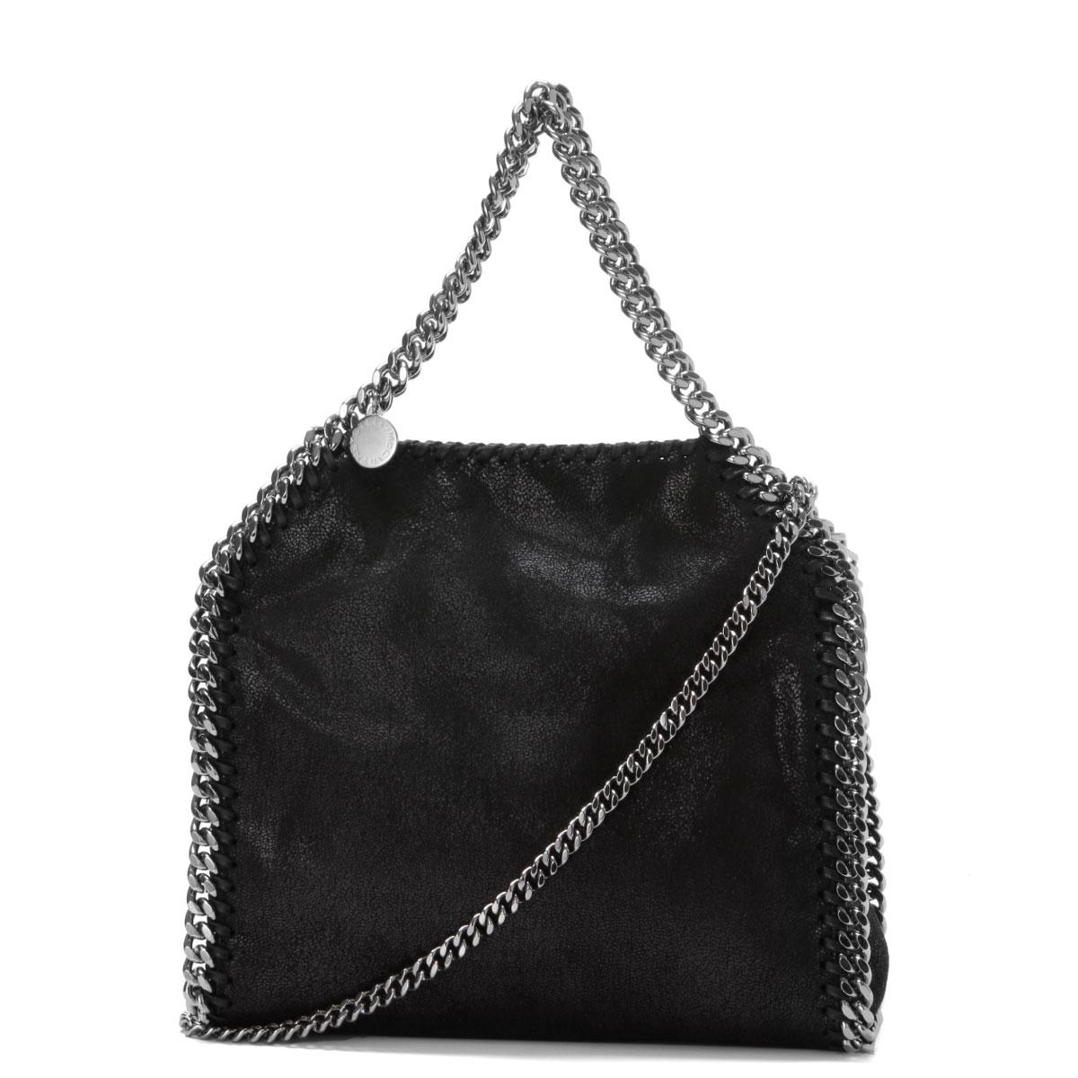 classic fit classic factory outlet STELLAMCCARTNEY (Stella McCartney) bag tote bag mini BLACK black FALABELLA  FALABELLA BLACK
