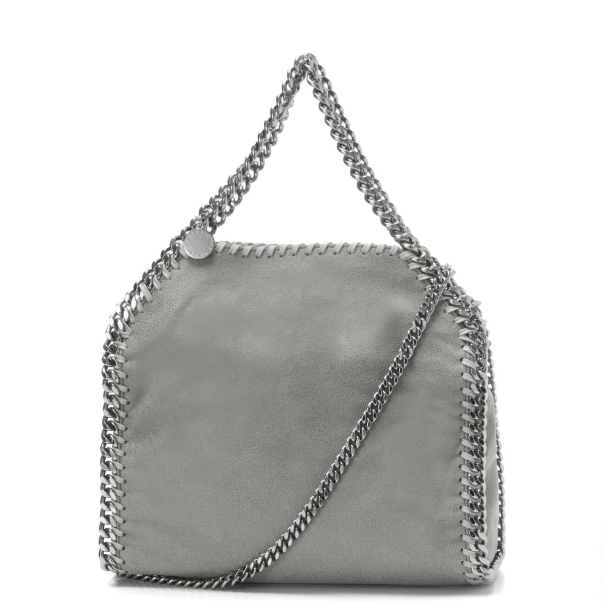 STELLAMCCARTNEY (Stella McCartney) bag tote bag mini GREY grey FALABELLA  FALABELLA GREY e91e517660acc