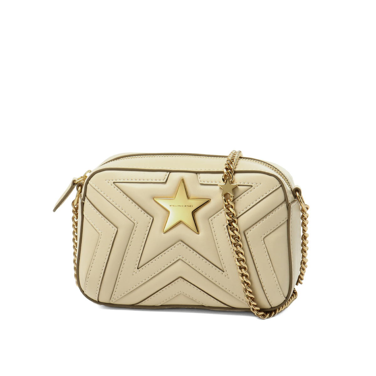 44c3e6e84257 500994 Stella McCartney STELLA McCARTNEY bag lady W8214 9020 shoulder bag  mini-STELLA STAR Stella star BEIGE beige