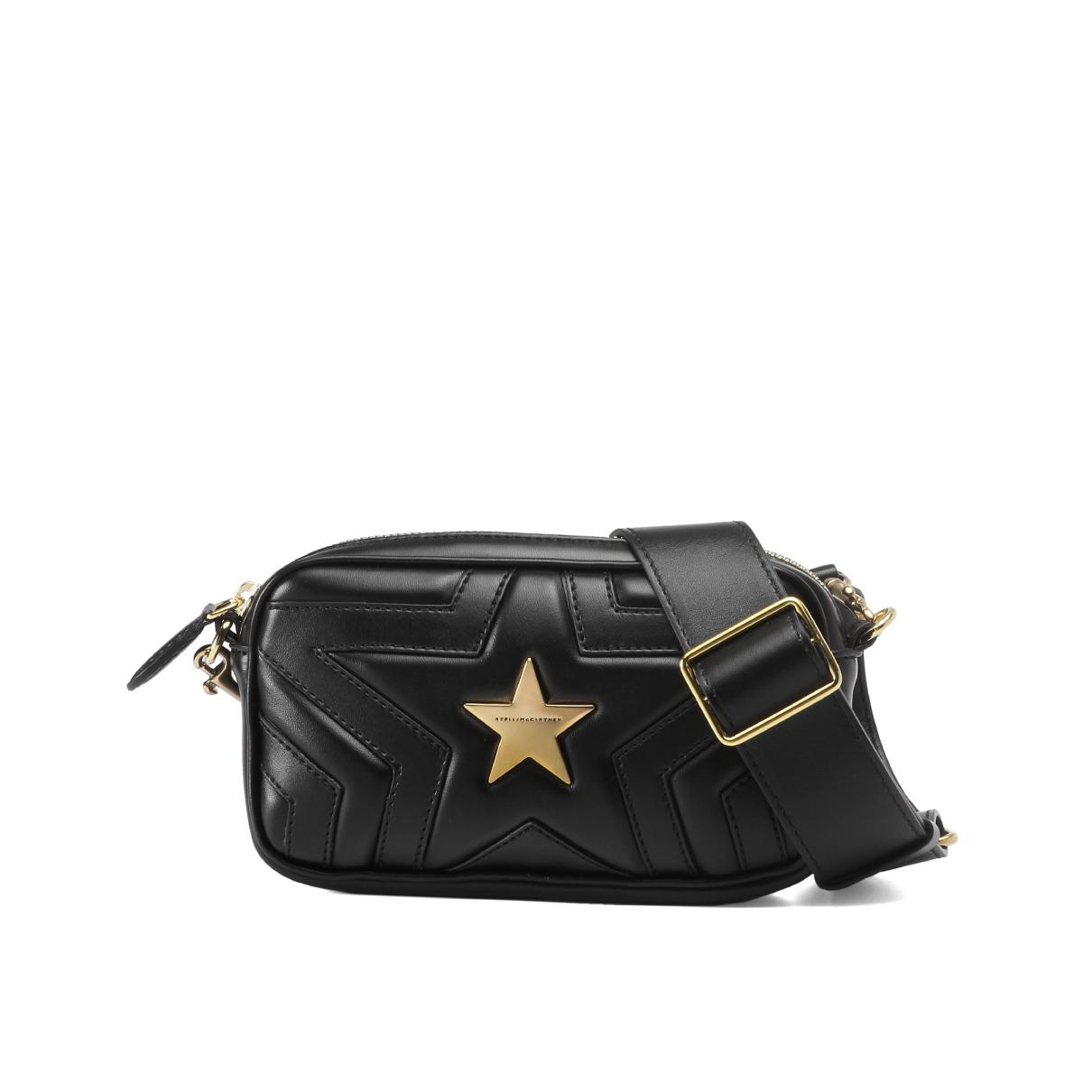 ステラ マッカートニー STELLA McCARTNEY バッグ レディース 529309 W8214 1000 ウエストバッグ STELLA STAR ステラ スター BLACK ブラック