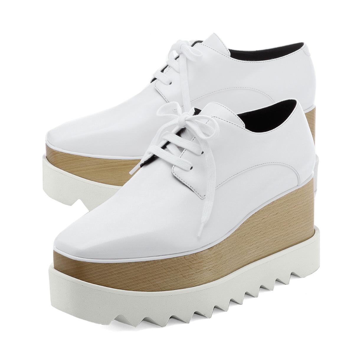 37c17a050106 importshopdouble  Stella McCartney STELLA McCARTNEY shoes Lady s 363997  W0XH0 9000 sneakers ELYSE Ellis WHITE white
