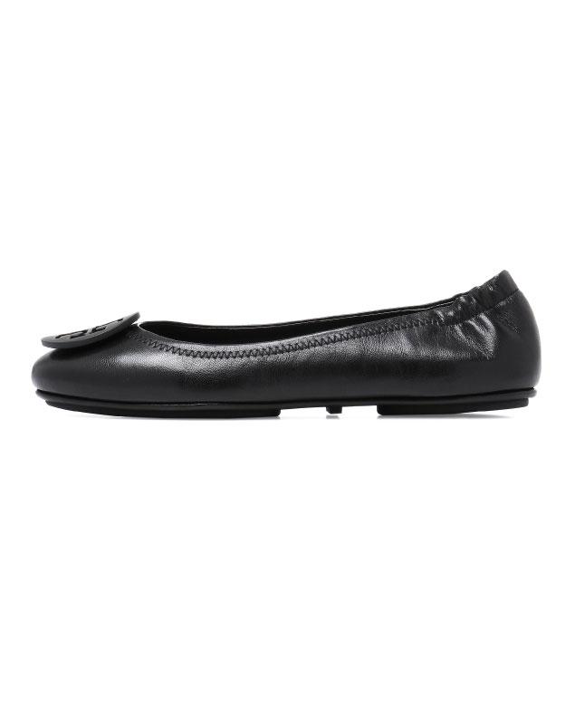 43e07e1814a ... Tolly Birch TORY BURCH shoes 51158251 001 ballet shoes MINNIE mini BLACK  black ...