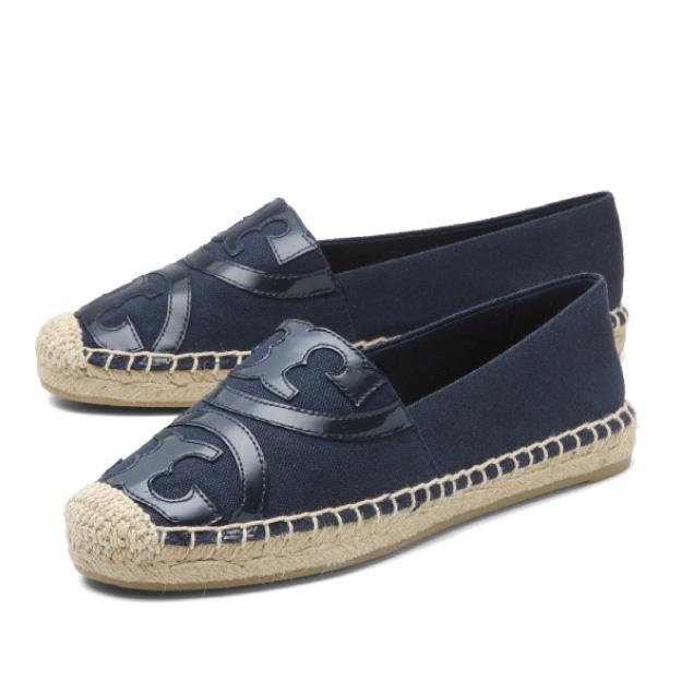 2f88c12d9cf Tolly Birch TORY BURCH shoes Lady s 45974 418 espadrille POPPY poppy ROYAL  NAVY ROYAL NAVY dark blue