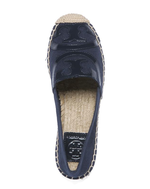 c254691b0f76e Tolly Birch TORY BURCH shoes Lady s 45974 418 espadrille POPPY poppy ROYAL  NAVY ROYAL NAVY dark blue