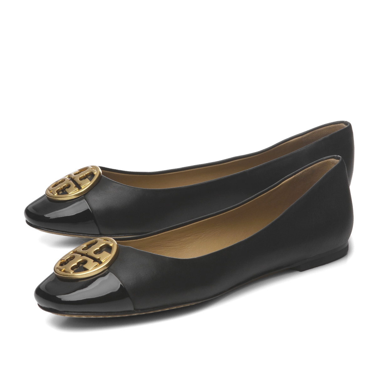 ef0208ea6db7 Tolly Birch TORY BURCH shoes Lady s 46882 009 ballet shoes CHELSEA Chelsea  BLACK BLACK black