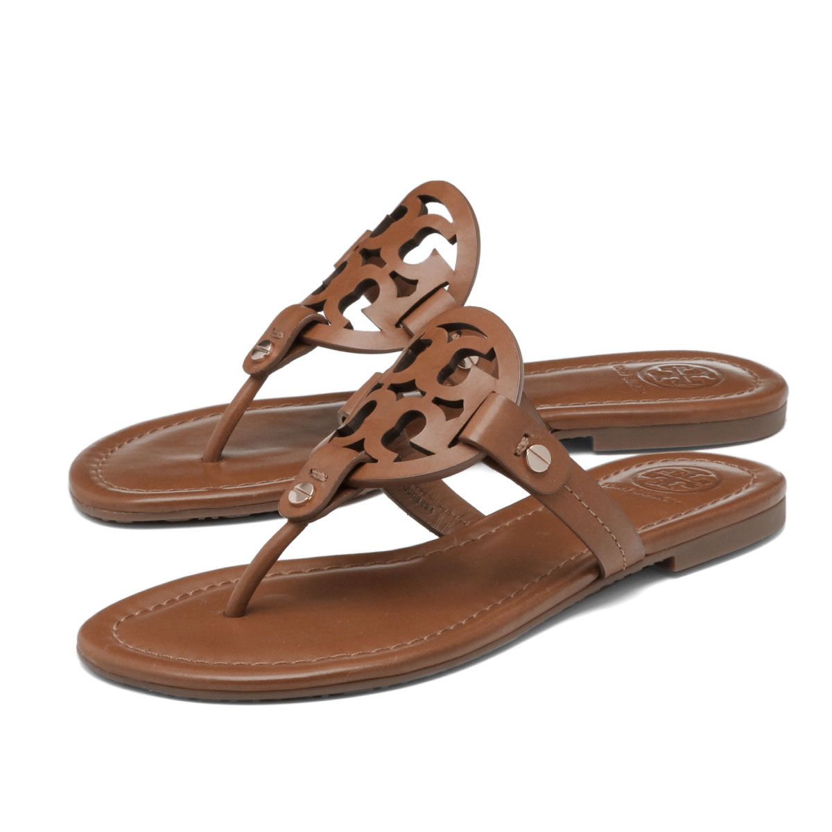 90b178273 Tolly Birch TORY BURCH shoes Lady s 50008694 204 tong sandals MILLER mirror  VINTAGE VACHETTA brown