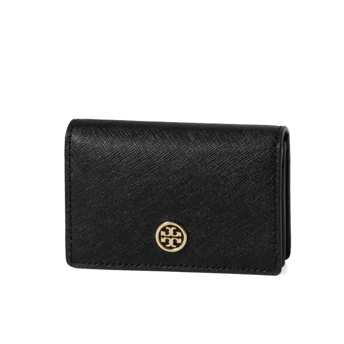 promo code 05ebb 23b60 Tolly Birch TORY BURCH card case Lady's 51189 001 ROBINSON Robinson BLACK  black