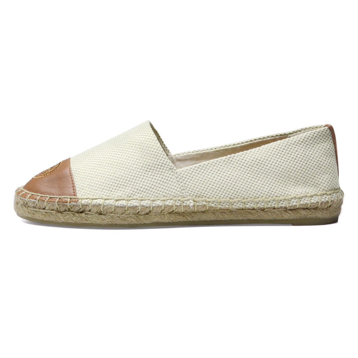 a8dd56ad2 Tolly Birch TORY BURCH shoes Lady s 47016 276 espadrille COLOR BLOCK FLAT  color block flat NATURAL TAN is beige