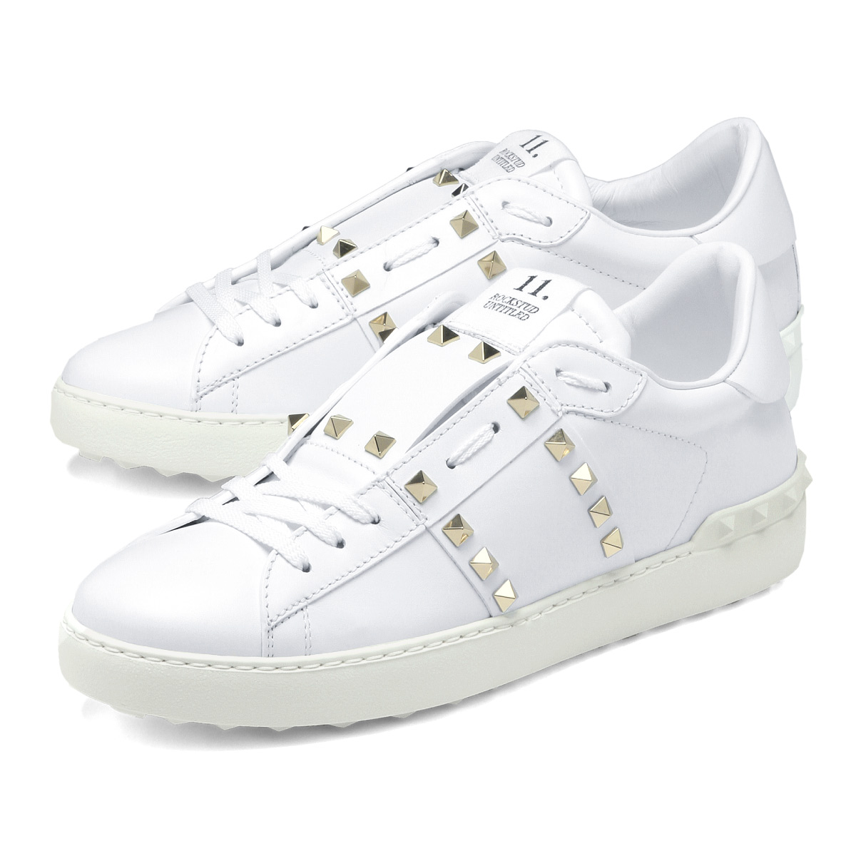 importshopdouble | Rakuten Global Market: Valentino VALENTINO shoes men PY0S0931 BHS 0BO NO.11 sneakers ROCKSTUD UNTITLED ロックスタッドアンタイトルド BIANCO white