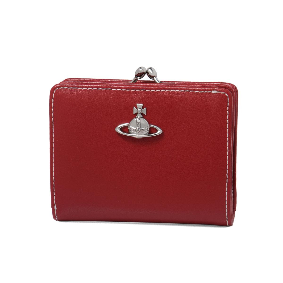 ヴィヴィアン ウエストウッド VIVIENNE WESTWOOD 財布 レディース 51010020 40525 H401 二つ折り財布 MATILDA マチルダ RED レッド
