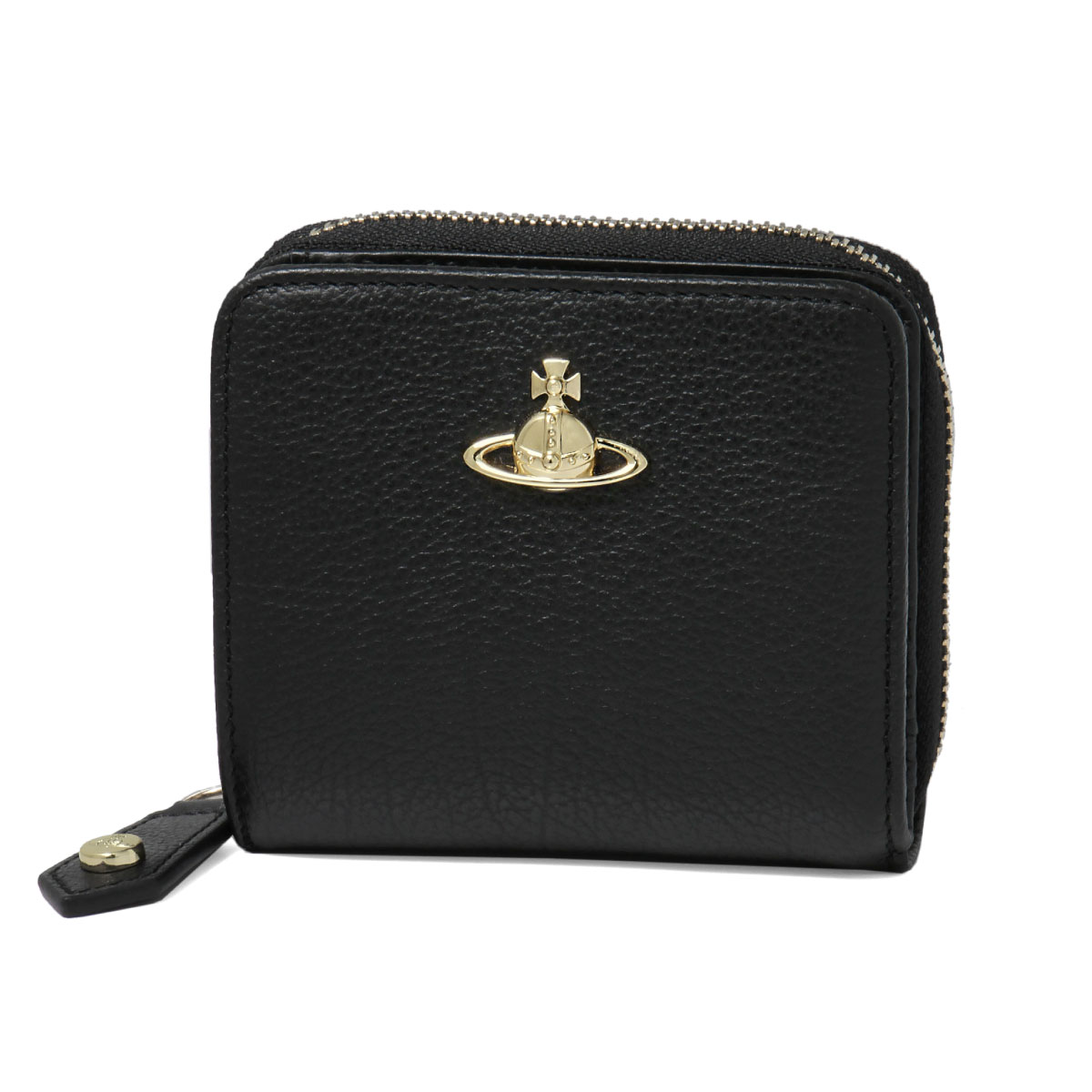 ヴィヴィアン ウエストウッド VIVIENNE WESTWOOD 財布 レディース 51080020 40212 N401 二つ折り財布 ミディアム BALMORAL バルモラル BLACK ブラック
