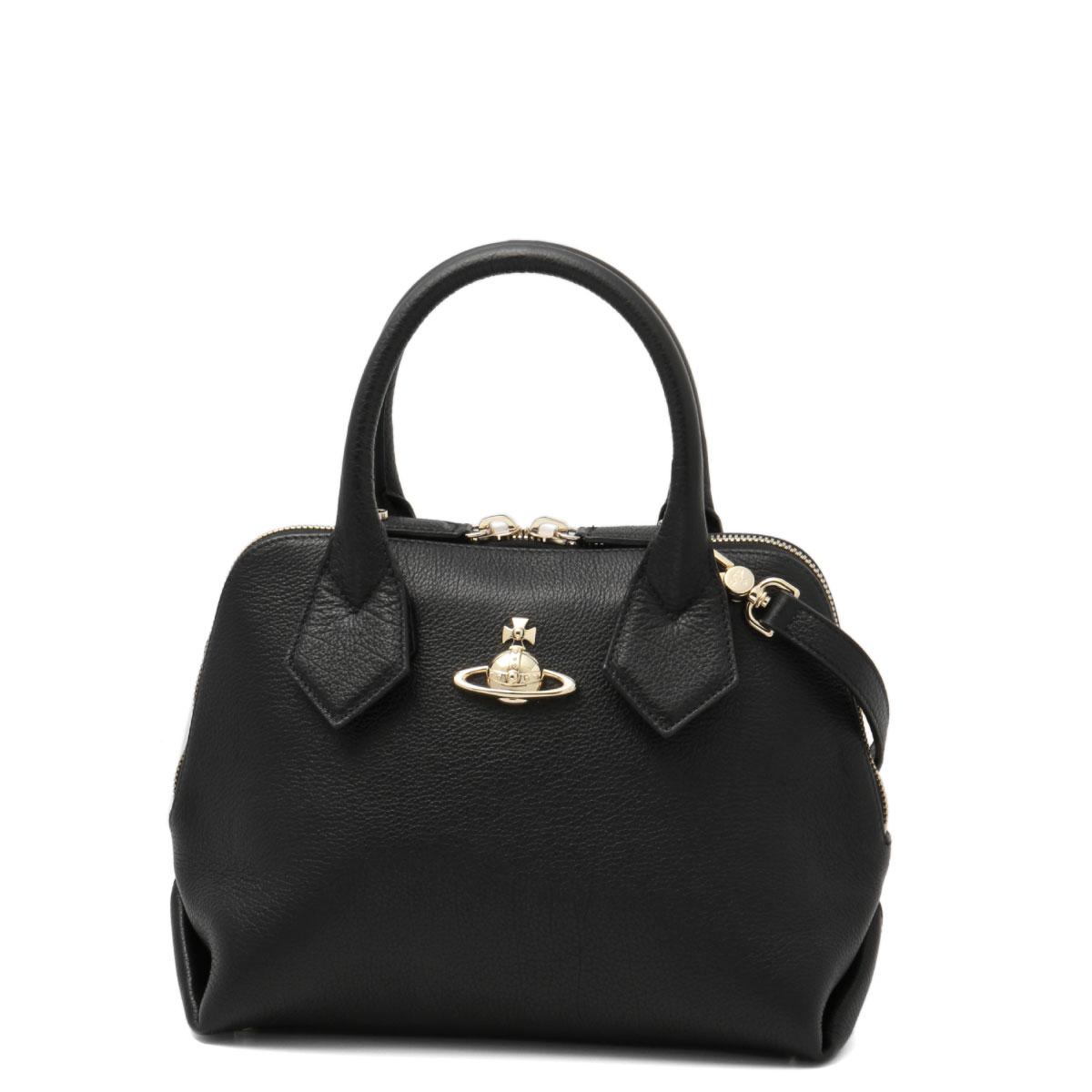 42010026 Vivien Waist Wood Vivienne Westwood Bag Lady 40212 N402 Shoulders Handbag Small Balm Black Belonging To