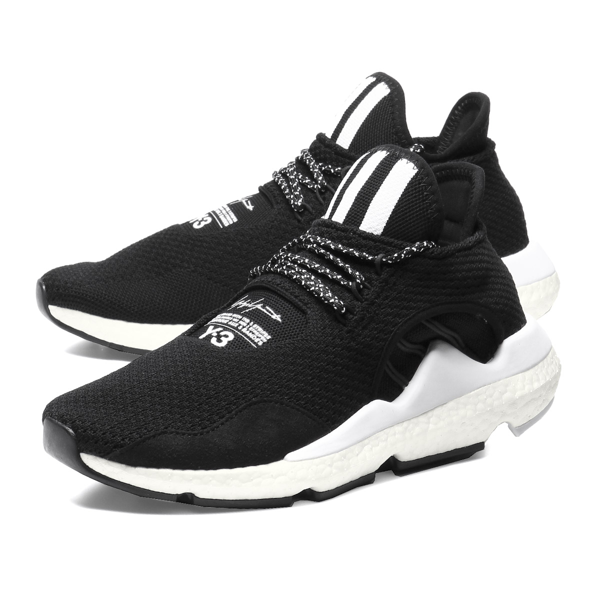 Weiss Lee Y-3 shoes men AC7196 sneakers SAIKOU rhinoceros Ko  CBLACK FTWWHT CWHITE black 86f95d50f