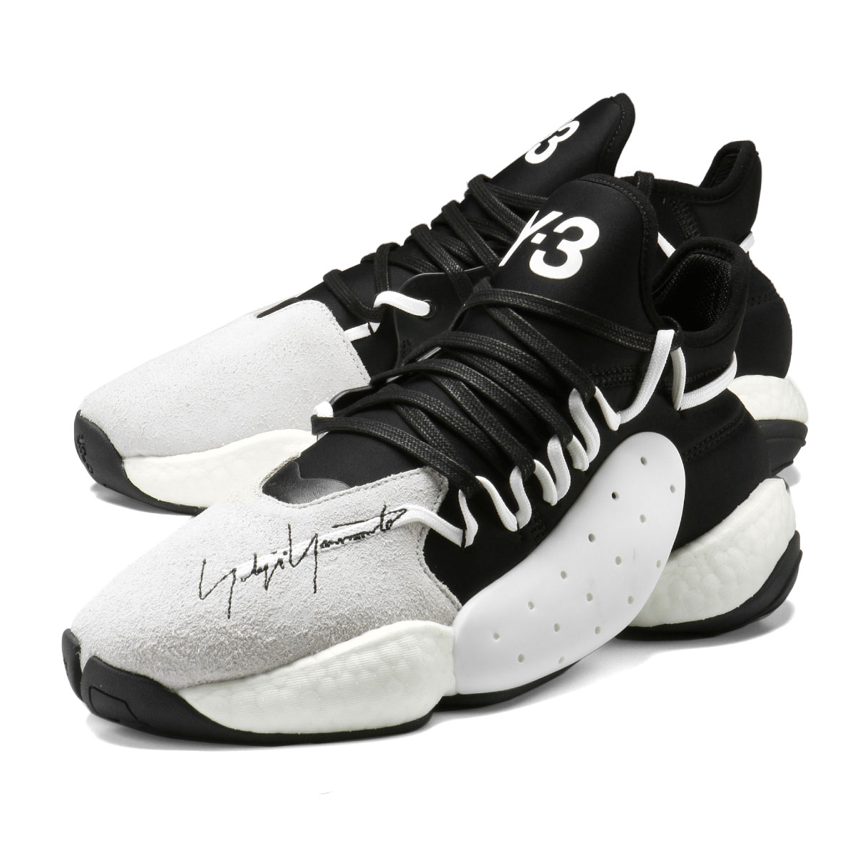 premium selection a9313 d3619 importshopdouble  Weiss Lee Y-3 shoes men BC0337 sneakers BYW BBALL boost  youware B ball FTWWHT BLACK BLACK black   white   Rakuten Global Market