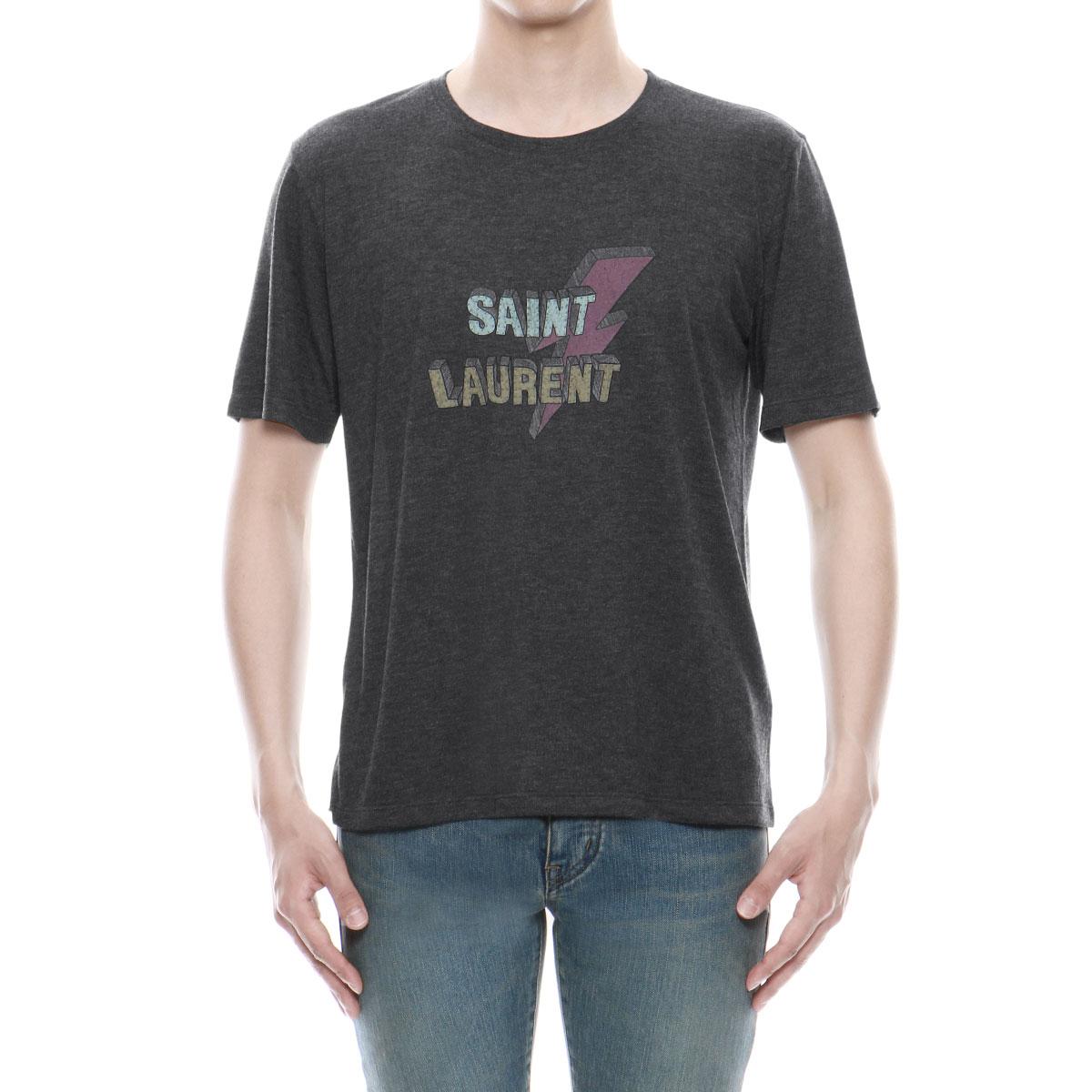 af8b15256e3630 ... 500898 Saint-Laurent SAINT LAURENT T-shirt men YB2LW 1090 short sleeves  T- ...