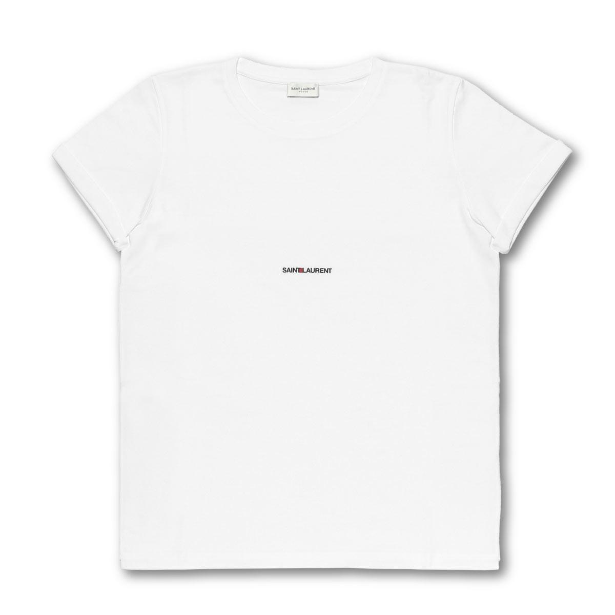 f4e9803b 464572 Saint-Laurent SAINT LAURENT T-shirt men YB2DQ 9000 short sleeves T-  ...