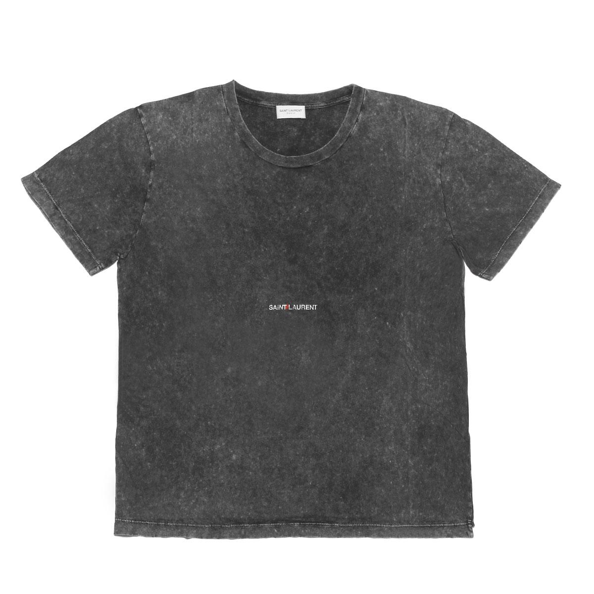 サン ローラン SAINT LAURENT Tシャツ レディース 497112 YB2LO 1059 半袖Tシャツ GREY グレー