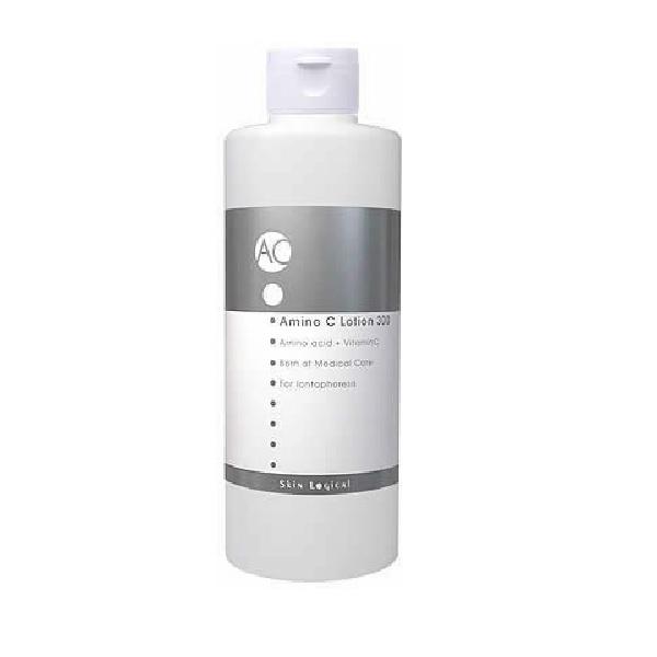スキンロジカル アミノシーローション 300ml イオン導入用ローション 化粧水 乾燥 保湿 アミノ酸 ビタミンC 無香料 無着色 普通肌 混合肌 乾燥肌 大人ニキビ