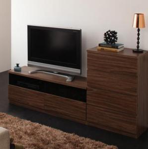 シンプルモダンリビングシリーズ nux ヌクス 2点セット(テレビボード+チェスト)収納 収納家具 テレビボード キャビネット シェルフ チェスト