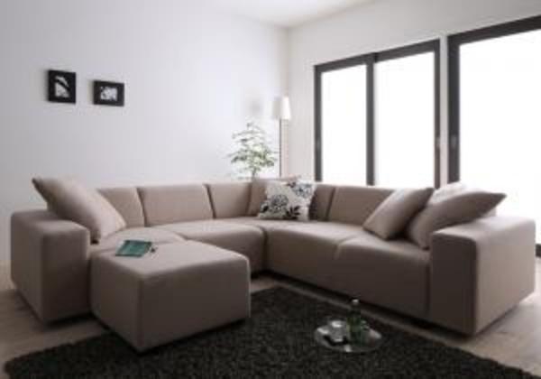 コーナーソファセット ALF赤 アルフレッド ソファ&オットマンセット 2P×2+コーナー2人掛けソファ 二人掛けソファ 二人掛け 二人 2人用 ソファ カウチソファ 北欧 カントリー ナチュラル シンプル リビング 木製 北欧デザイン 北欧家具 sofa ソファー