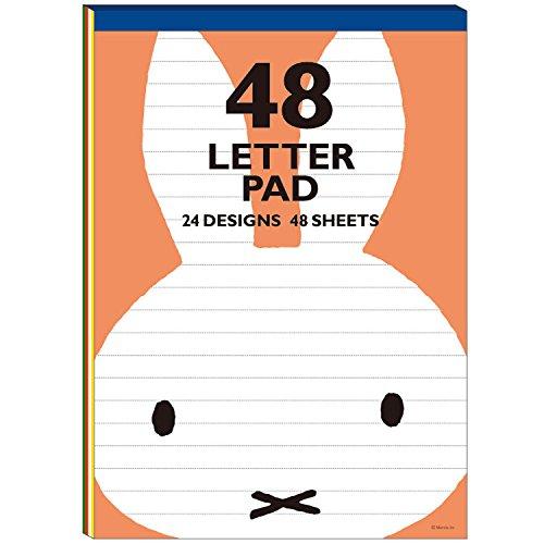 ミッフィー/48レターパッド(S18B48LPR)(mail 150)
