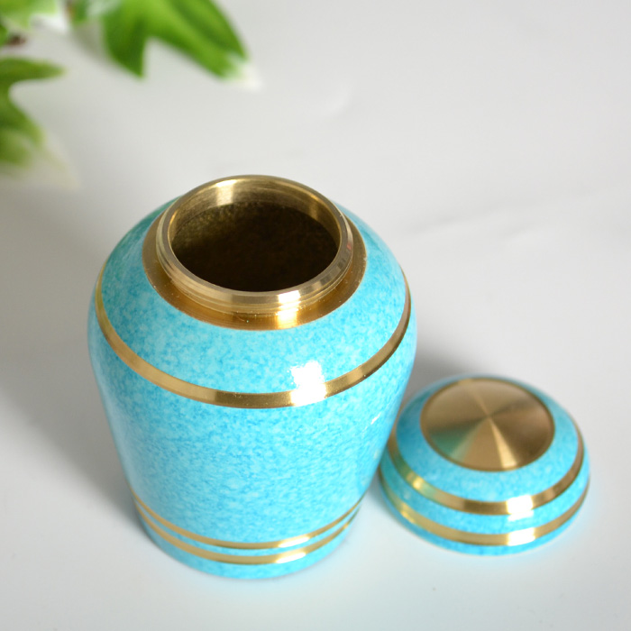 It is [fs01gm] [Buddhist altar fittings] [family's Buddhist altar] funerary urn mini-[modern mini-bone pot Shin pull] memorial hand memorial service
