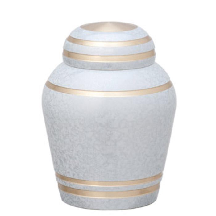 骨壷 分骨 手元供養 シンプルモダン フロストホワイト ミニ 骨壺 メモリアル