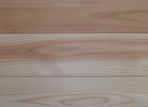 【アトピー・キラー 森呼吸ハーフ】杉無垢フローリング無節 無塗装 1820×15×115ミリ 16枚入