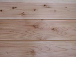 【アトピー・キラー】杉無垢羽目板節あり 無塗装3640×12×170ミリ 5枚入