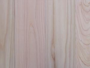 スーパー桧無垢フローリング無地 UVセラミック塗装1900×12×90ミリ 19枚入