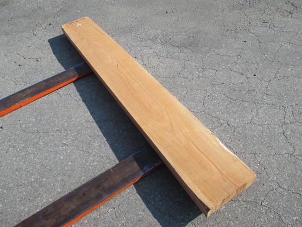 さくら無垢板 天然乾燥材1900×75×265ミリ