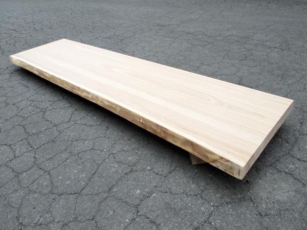 本タモ片耳付き無垢天板 巾ハギ 40ミリ厚タイプ1900×40×450ミリ