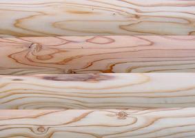 天竜杉ログ 内・外装用無垢羽目板節あり 無塗装2900×25×90ミリ 4枚入