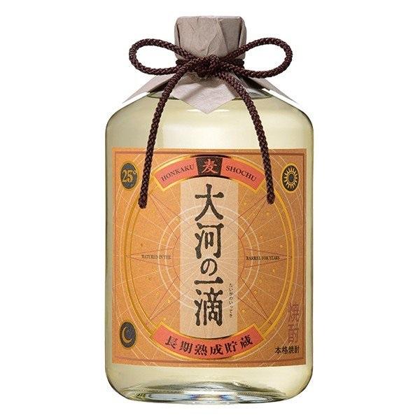 買収 送料無料 雲海酒造 麦長期熟成 大河の一滴 6本 25° 720ml瓶 マーケティング ケース