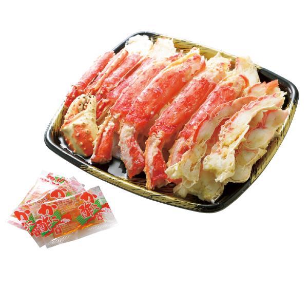 お中元 御中元 鮮魚 蟹 たらばがに ギフト 詰め合わせ 送料無料 茨城県加工 ボイルたらばがにカット