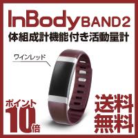 InBody 筋肉・脂肪量が測れる活動量計 InBodyBAND2 ワインレッド