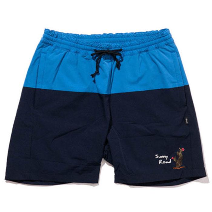 【グラム ショーツ/水着】glamb グラム / Sunny Road shorts (blue) [glamb-GB0219-P10]