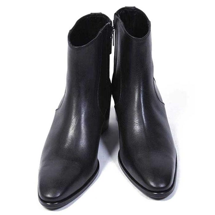 【ガラアーベンド ブーツ】GalaabenD ガラアーベンド グレンソンキップヒールブーツ black galaabend87900912